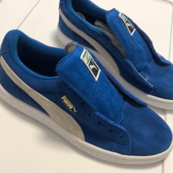 low priced 0995a 9c325 Puma Clyde Suede Blue